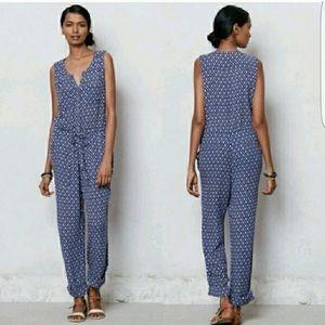 Anthropology Lilka dao Blue Ikat jumpsuit pattern